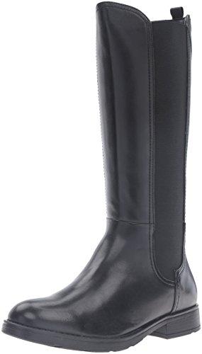 Geox J64D3C043NHC9999 - Botas altas para niñas, color Negro