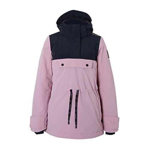 Brunotti ski-jack snowboardjas Fireback JR Girls snowjacket roze winddicht