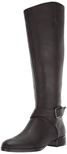 Kenneth Cole New York Women's Branden Buckle Fashion Boot, Chocolate, 7 Medium US