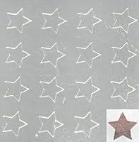 【シルバーネイルシール】スター・星(2)/1シート16枚入