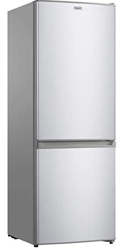 FrigeluX - Réfrigérateur Combiné CB167SA++- Réfrigérateur Congélateur 2 Portes - 170L dont Congélateur 51L - Dégivrage Automatique - Pose Libre - Garantie 2 ans - Silver
