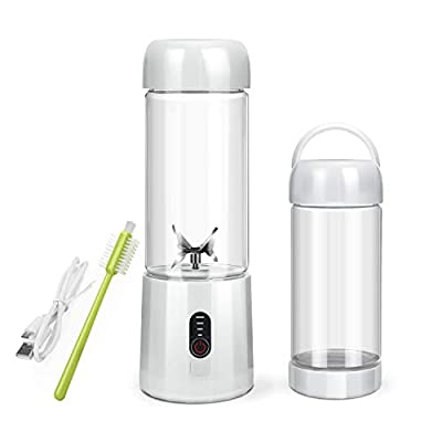 Personal Blender, USB Rechargeable Portable Blender for Shakes and Smoothies