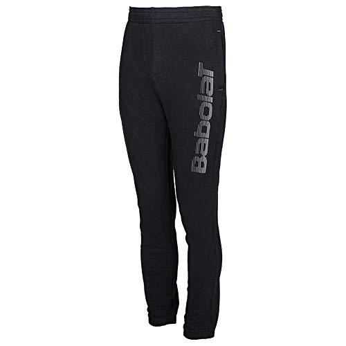 Babolat Core Sweat Pant Big Log M – Pantaloni da Tuta da Uomo, Uomo, Pantaloni da Jogging, 3MS18133_2XL, Nero, XXL