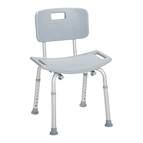 Drive Medical RTL12202KDR Bathroom Safety Shower Tub Bench Chair with...