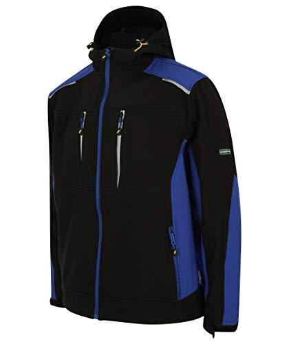 Preisvergleich Produktbild Goodyear GYJKT012_BLKRO_XL Softshell-Arbeitsjacke,  Schwarz / königsblau