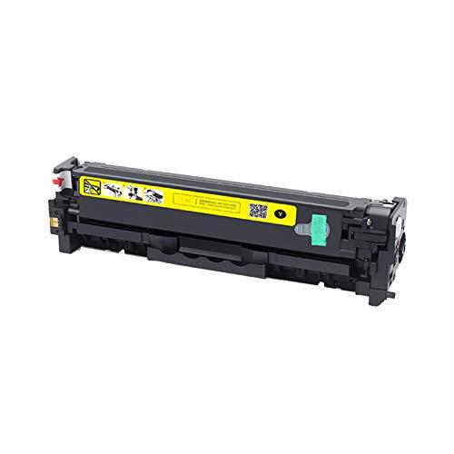 AXAX toner-mero 305A - Cartucho de tóner compatible con HP 305A CE410A CE411A CE412A CE413A, sustituye a HP Color Laserjet Pro 300 Color MFP M375NW 400 ColormFP 451, color amarillo
