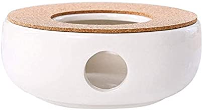 ADMOS Biały ciepły piec do herbaty ceramiczny porcelanowy podgrzewacz pieca podgrzewacz świecy ceramiczny retro biały podg...