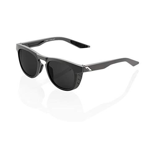 100 Percent Slent-Soft TACT Cool Grey-Smoke Lens, Occhiali Ciclismo Uomo, M