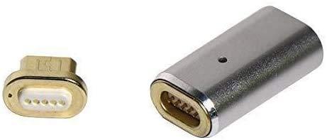 10個セット microUSB用マグネットコネクタ・アダプタセット microAメス-microAオス 充電・データ通信対応 マイクロUSB マグネット式充電コネクタ MAGCON-microUSB