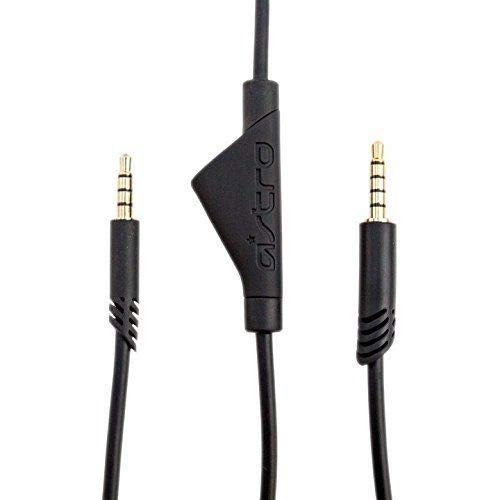 Astro 2.0m A40 TR Inline Mute Talkback Audio Cable Compatible Xbox One, Playstation 4 PS4, Switch Most Smartphones