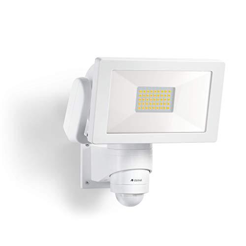 Steinel LED Strahler LS 300 Weiß, 30.6 W Flutlicht, 240° Bewegungsmelder, 12 m Reichweite, 4000 K neutralweiß