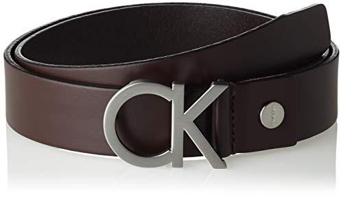 Calvin Klein Herren CK ADJ. BUCKLE BELT Gürtel, Braun (Turkish Coffe 201), 675 (Herstellergröße: 95)