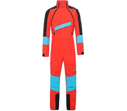 The North Face 90 Extreme Wind Suit trainingspak voor heren NF0A4ALCLKD1 Fiery Red Combo
