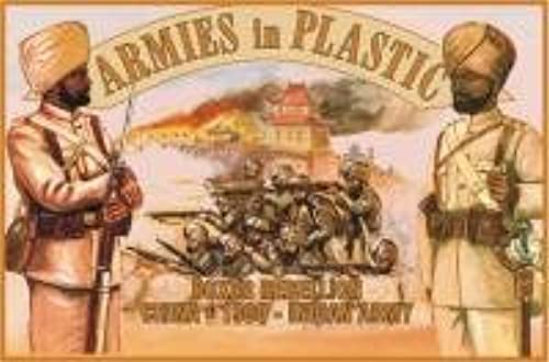 1 32 Armies in Plastic 5444 WKI Indien Armee West Front