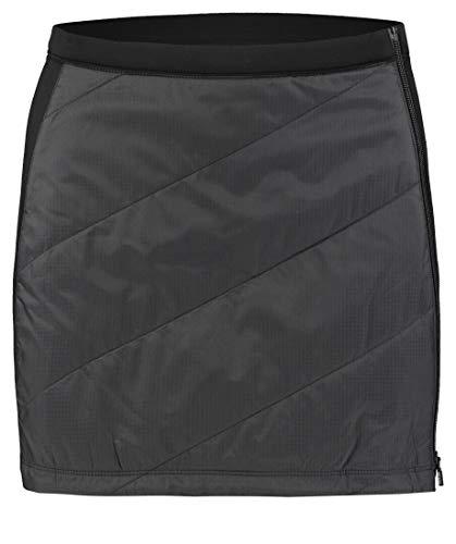 Icebreaker Helix Mini Skirt Schwarz, Damen Merino Röcke, Größe S - Farbe Black