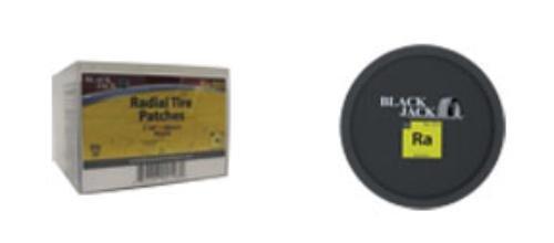 "3 1/8"" Round Radial Patch -  Black Jack Tire Repair, RA-553"