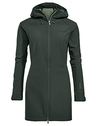 VAUDE Damen Women\'s Skomer Softshell Coat Jacke, Spinach, 42