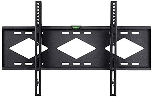 Lzpzz Montaje de Pared de TV Apto para la mayoría de 42-75In LCD Anti-Shedding y tecnología de pulverización electrostática Nivel de espíritu Incorporado Soporte de TV Distancia de la pared25mm70kg