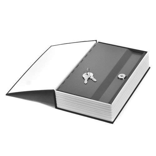 Fariox Hidden Secret Book Safe Vault Box Jewelry Locker with 2 Keys (Multicolour, 24 x 15.5 x 5.5 cm)