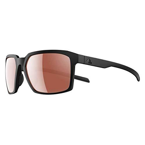 adidas Sonnenbrillen EVOLVER AD44 BLACK MATTE/LST ACTIVE SILVER einzige Größe Unisex
