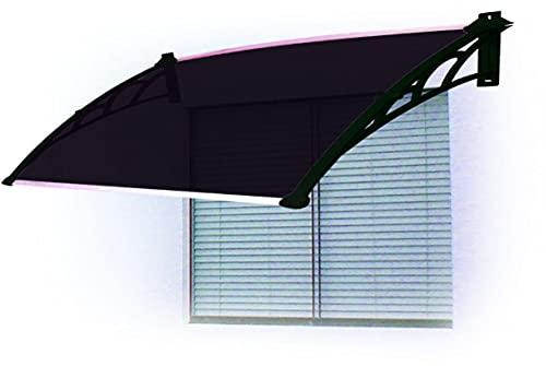 Toldo Versátil para Portas, Janelas e Ar Condicionados Artplas 80cm x 62cm Preto