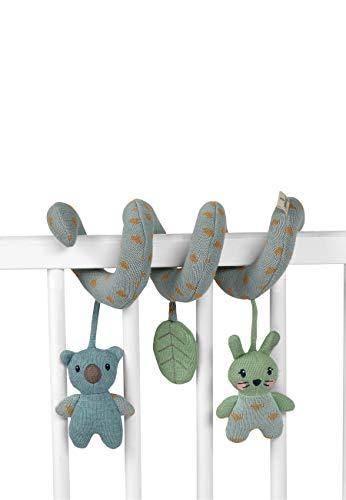 Sterntaler Stay true to nature Spielzeugspirale, Hase Kinni und Koala Kalla, Alter: Für Babys ab der Geburt, Mehrfarbig