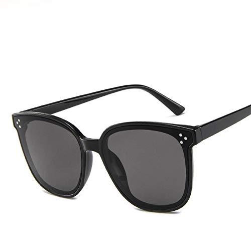 ShSnnwrl Gafas Sol De Hombre Mujer Polarizadas Sunglasses Gafas De Sol Rojas De Moda para Mujer Gafas De Sol De Ojo De Gato De Diseñador D