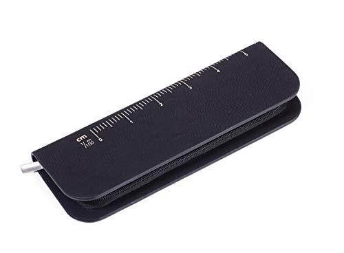 TROIKA CONSTRUCTION SET GOLD - PEC71/BG Kugelschreiber - Multitool - Lineale - Skalen - Wasserwaage - Schraubendreher - Stylus - hochwertiges Mäppchen - schwarze Mine - TROIKA-Original
