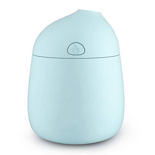 DW&HX Mini Purificateur d'air Brume fraîche arôme diffuseur USB Macaron Portable Diffuseurs d'huiles essentielles pour Spa Office Chambre bébé-Bleu