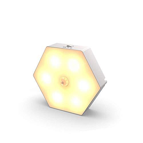 Smart Led Human Induktionslampe Wiederaufladbare USB-Batterie Nachtlicht Nachttischlampe Schlafzimmer Nachttischlampe Carport Deckenleuchte