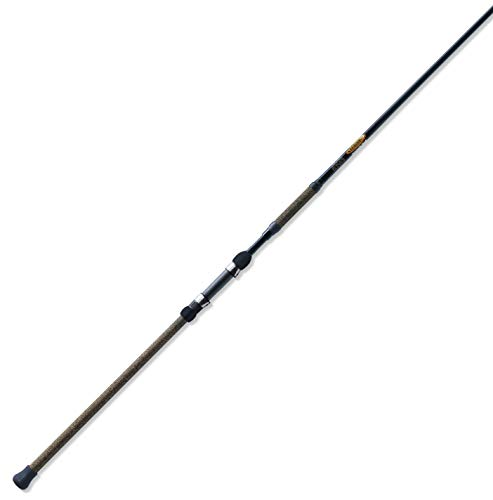 St. Croix TSRS80M2 Triumph Surf 2-Piece Graphite Spinning Fishing Rod with Cork Tape Handle, 8-feet