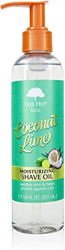 Tree Hut bare Moisturizing Shave Oil Coconut Lime, 7.7oz, Essentials for Soft, Smooth, Bare Skin