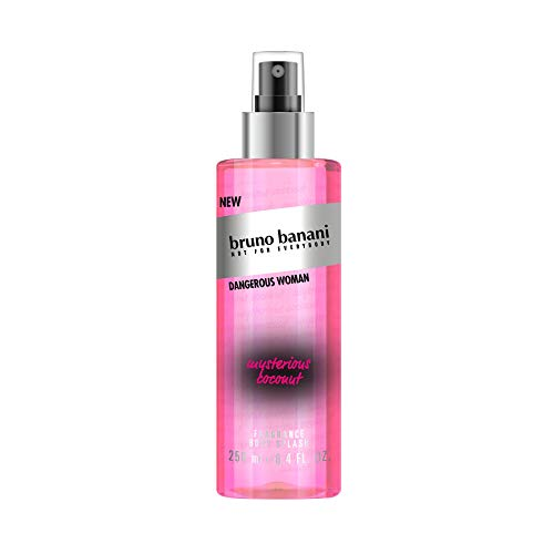 bruno banani Dangerous Woman Body Splash, fruchtig floraler Duft für Sie, 250ml