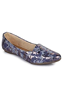 Glamgo Bellies Footwear - Comfortable Belly Flats for Working Women.