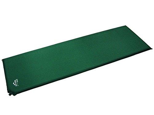 EXPLORER 43030 Tapis de Sol Gonflable, Vert, 185 x 55 x 2,5 cm