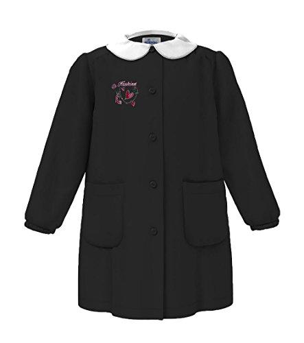 Siggi - Delantal para niño, color negro y con bordado