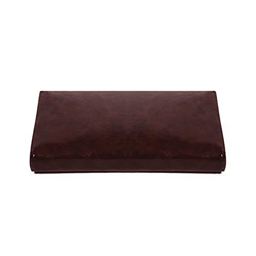 wangk Indoor Outdoor Bench Cushion,Waterproof Pu Leather Settee Cushion,not-Slip Sunbrella Patio Furniture Pad Bench Cushion Seat Cushion for Piano Seat Wicker