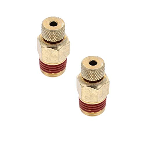 Porter Cable C2002/C2005 Air Compressor OEM (2 Pack) Replacement A17038 Drain Valve # N286039-2pk
