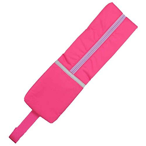 ランドセルサイドポーチ 全3色 撥水加工 男の子 女の子 防水 反射材付き 雨 リコーダーケース なんでも袋 入学 通学 登校 下校 小学校 入学式 入学準備 (ピンク)
