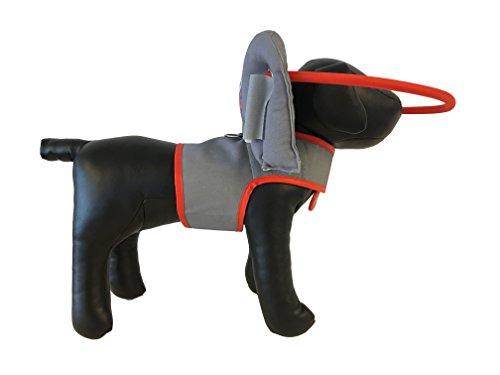 Muffin's Blind Dog Clubhouse Arnés con Anillo Que Protege a los Perros Ciegos, XXL, Grey