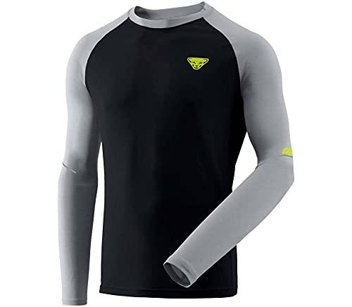 Dynafit Alpine Pro M L/S T-Shirt à Manches Longues pour Homme, Homme, T-Shirt à Manches Longues, 08-0000071156, Alliage Mélange/0910, XL