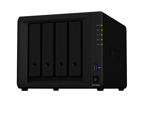 Synology 4 Bay NAS-eenheid WD RED 12TB