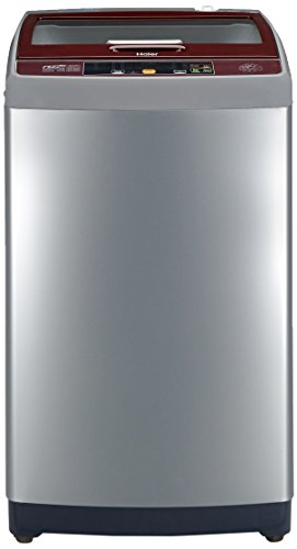 Haier 7.5 kg Fully-Automatic Top Loading Washing Machine (HWM75-707NZP, Silver Grey)