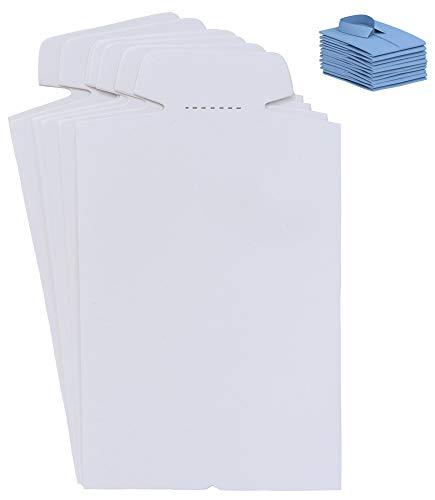 TATYZ Cardboard Shirt Inserts Folding Forms for Packing, Organizing, Laundry Folders- 20 PCS (8.5' x 14')