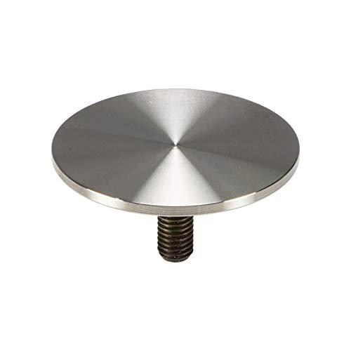 gedotec placas de vidrio de adaptador placa de fijación de acero inoxidable...