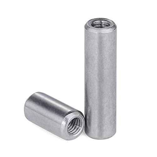 304 Pin Cilíndrico Roscado Interno de Acero Inoxidable, Pin M3 / M4 / M5 / M6 Posicionamiento, GB120, Pin de rosca, Pin fijo-4 * 10-M3 (10pcs)