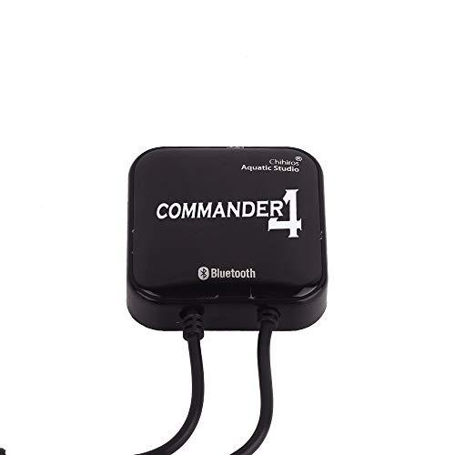 AILOVA Chihiros Commander 4 Aquarium LED Light Dimmer Controller,App Steuerung 4 Wege Einstellung,für WRGB Serien Geeignet Lampen