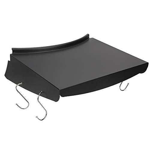 GFTIME 34,5 cm x 35,2 cm Tablette de Table pour Barbecue pour Grils de Charbon de Bois d'origine pour Bouilloire 57CM, Peut Placer des Condiments de Barbecue, des ustensiles de Barbecue Suspendus