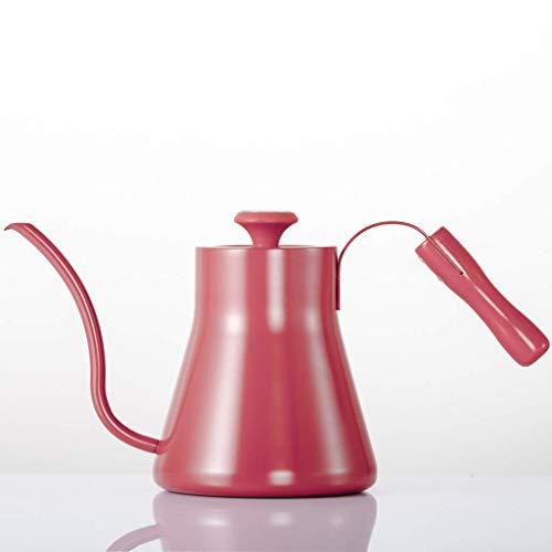 SEESEE.U Wasserkocher Filterkaffeemaschine Handstanzkaffeekanne Edelstahl 1200ml