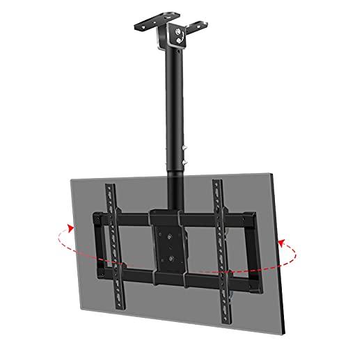 CCBBA Soporte De Montaje En Techo para TV, Movimiento Completo con Inclinación De Rotación De 360 °, Se Adapta A Televisores LED De Perfil Bajo De 39-90 Pulgadas